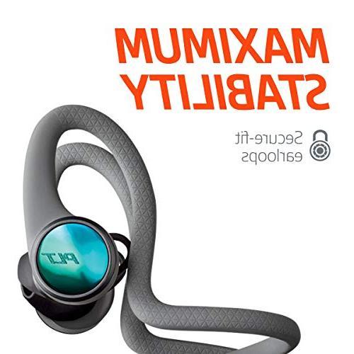 Plantronics BackBeat FIT Wireless Headphones, Waterproof in Headphones,
