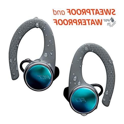 Plantronics True Wireless Earbuds, Sweatproof and Ear Workout