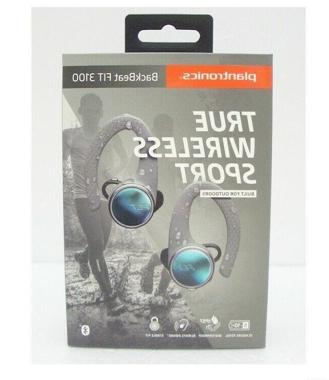 Plantronics True Earbuds, Sweatproof Workout Headphones,