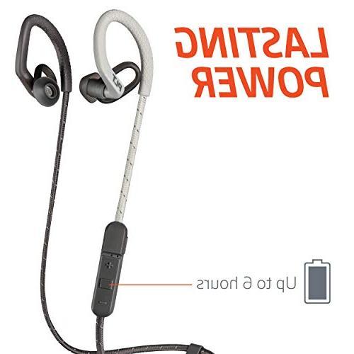 Plantronics FIT Wireless Headphones, Stable, Headphones, Black