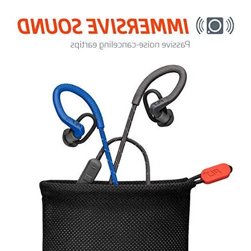 Plantronics FIT Wireless Headphones, Sweatproof in Headphones, Black