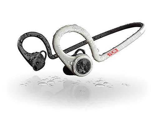 Plantronics FIT Training Edition Sport Earbuds, Waterproof The PEAR App, Grey
