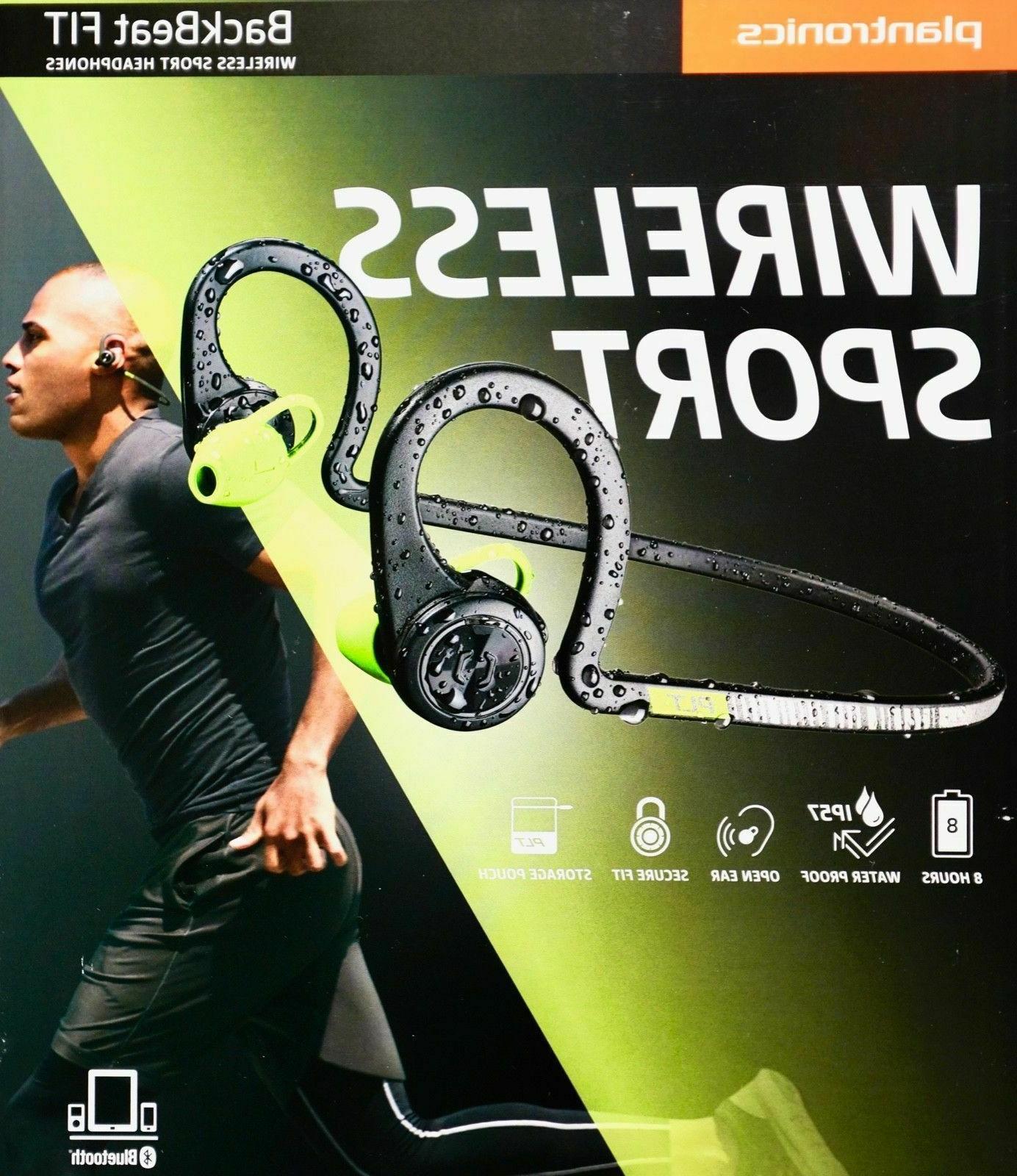 backbeat fit wireless sport bluetooth headphones sweat