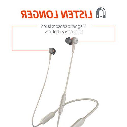 Plantronics Wireless Headphones, Canceling Earbuds, Graphite