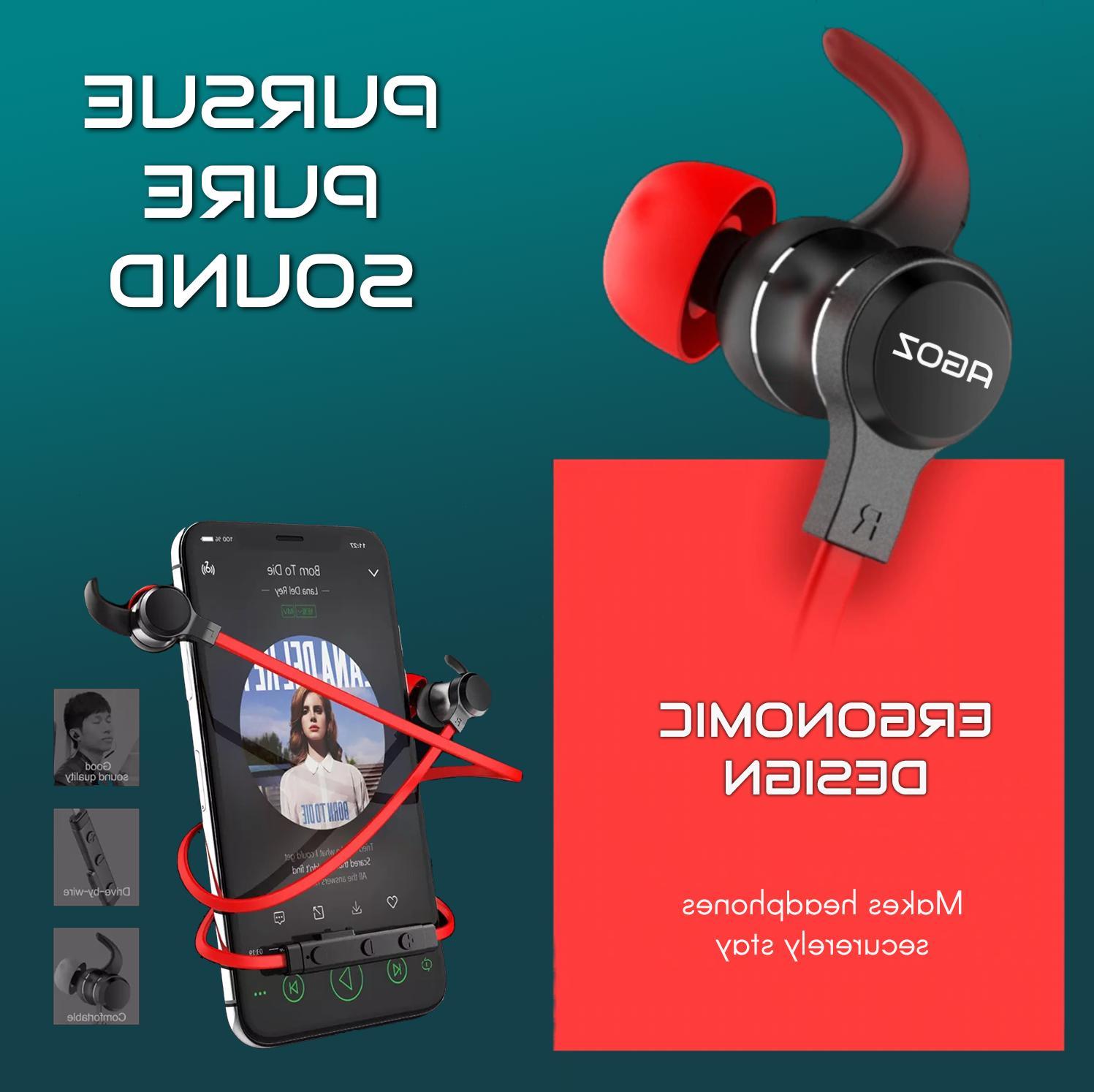 Best Wireless Headphones Sport Earbuds for ZTE Cell Phones