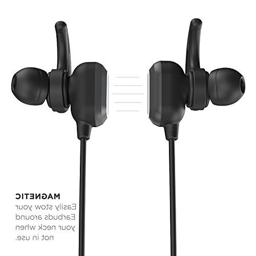 Phaiser Magnetic Headset for Earphones Mic for Working Comfortable Wireless Earbuds for