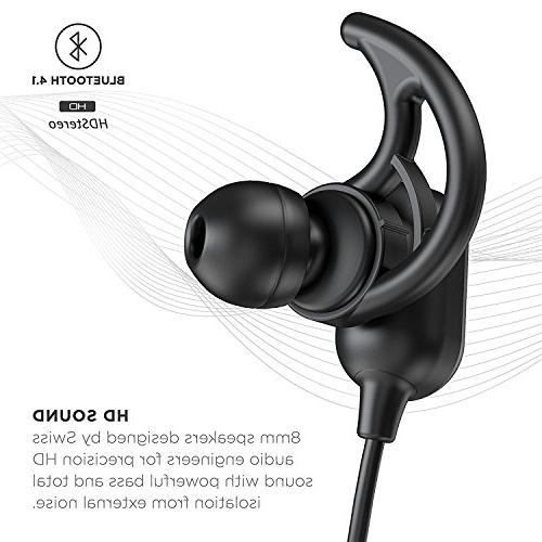 Phaiser Magnetic for Earphones with Working Wireless Earbuds for Exercise,