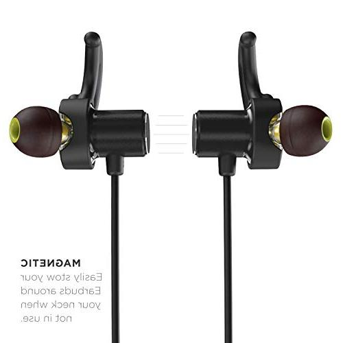 Phaiser BHS-790 Bluetooth with Dual and AptX Bluetooth 5.0 Sport Earphones Mic Sweatproof Guarantee for