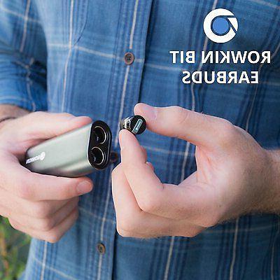 Rowkin Bit Charge Wireless Headphones w/Portable Bluetooth Earbud