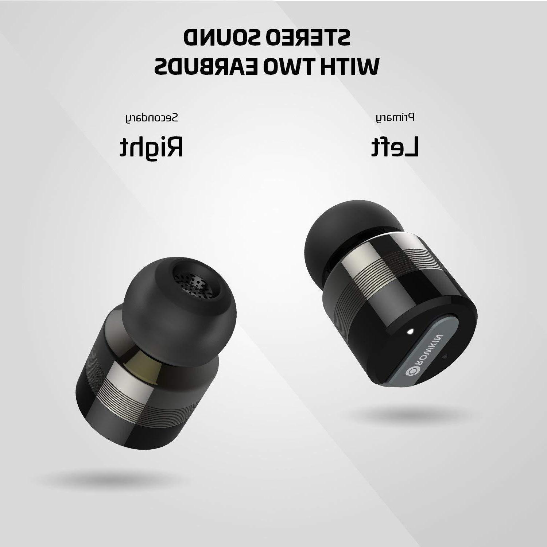 ROWKIN Stereo Truly Wireless Headphones Space Grey