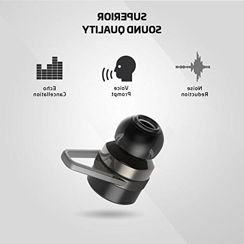 Rowkin Bit True Wireless Earbuds Case. Headphones, Hands-Free in-Ear Earphones w/Mic & for