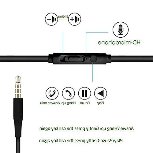 BargainPort Color Handsfree Stereo Earphone 3.5mm with Microphone Control For Galaxy 5 S