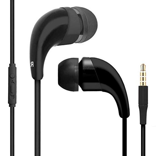 BargainPort Black Color Handsfree Earphone with and Control Samsung Galaxy S V