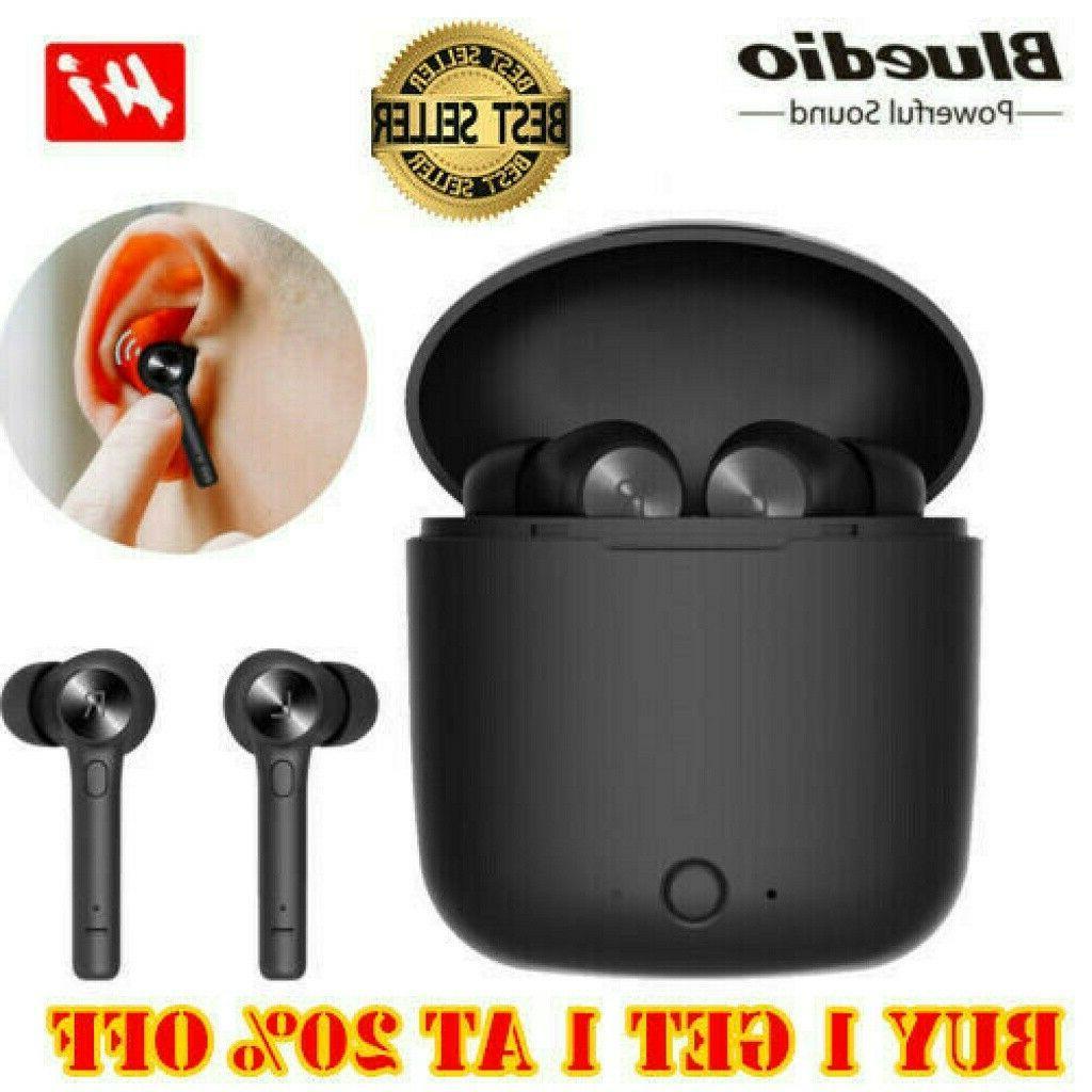 bluedio hi wireless bluetooth earphone for phone