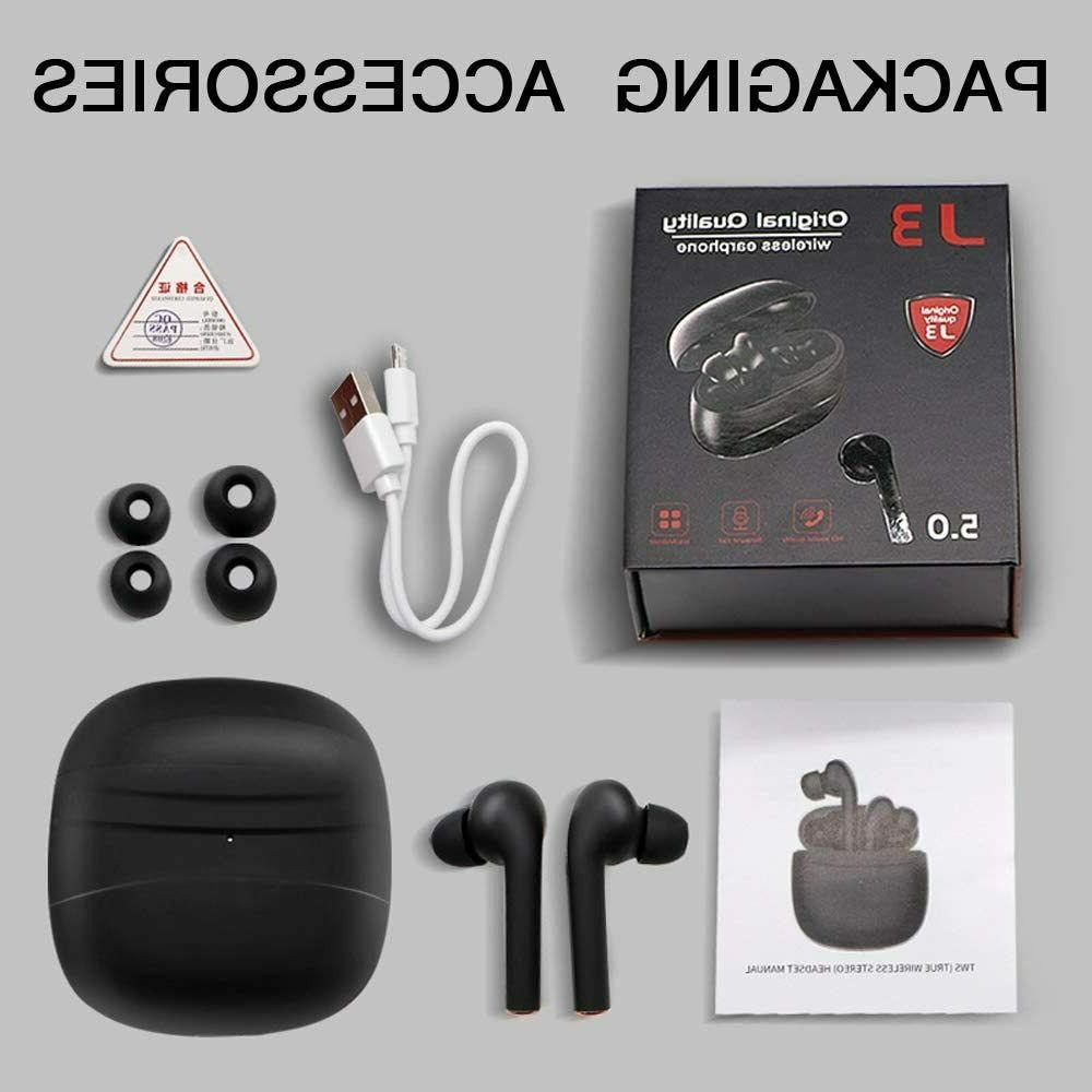 Bluetoot True Wireless with Case Compatible for