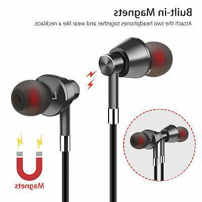 Bluetooth 4.1 Headphones Wireless Magnetic Sports Gym Headset
