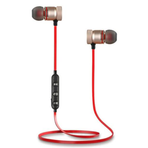 Bluetooth 4.1 Headphones Magnetic Earphones Gym
