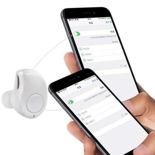 Bluetooth Mini In-Ear Wireless Earbuds Headset Stereo Hot BG