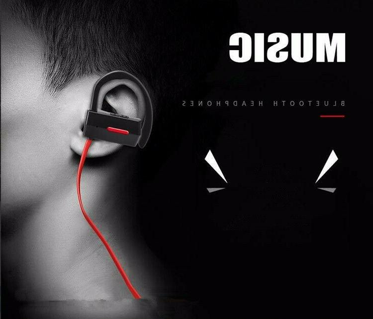Bluetooth 4.1 Earbuds IPX4 Sweatproof Sports Headset Mic