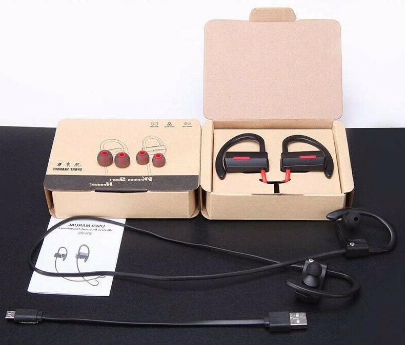 bluetooth 4 1 wireless earbuds ipx4 headphones