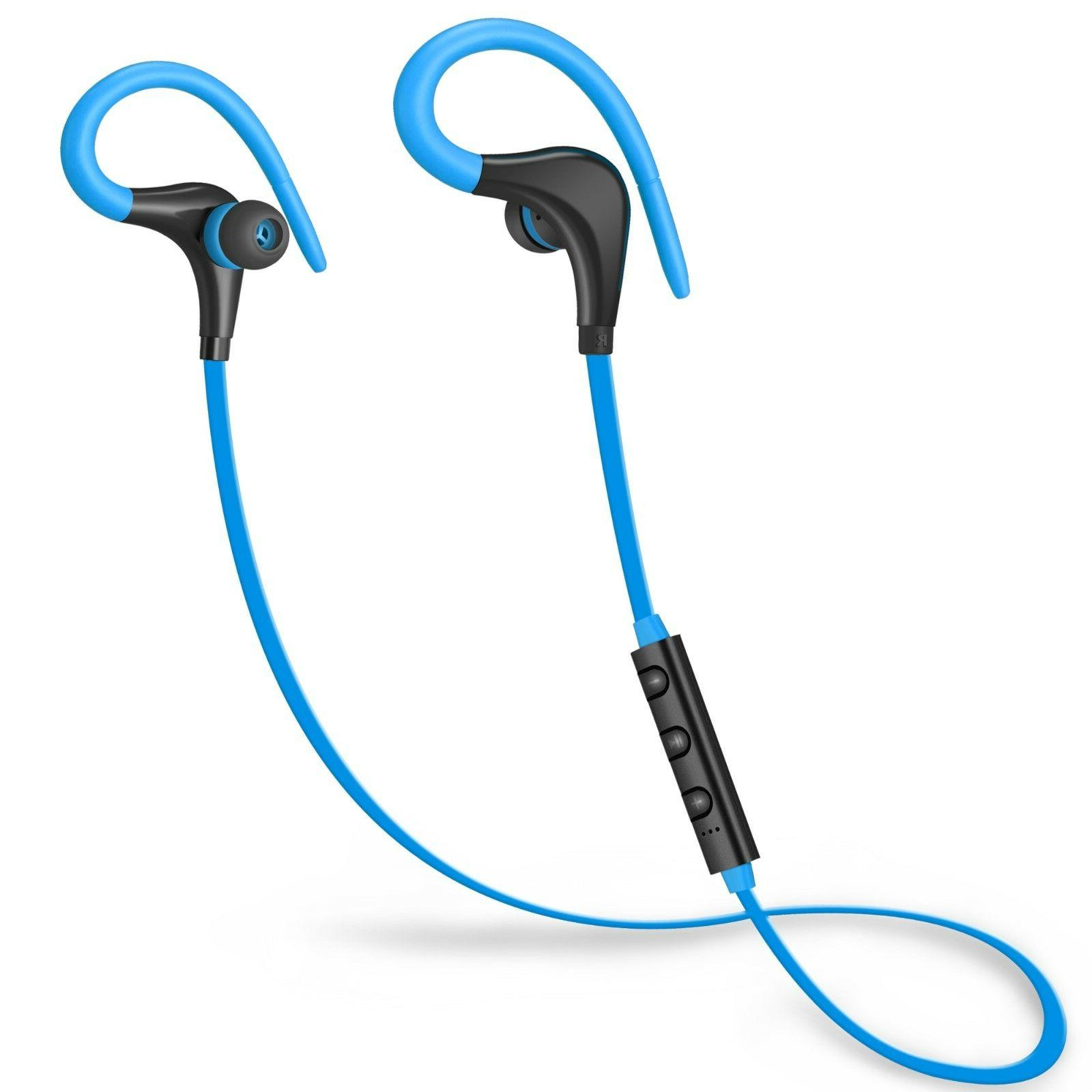 Bluetooth Wireless Stereo Earphone Headset Headphone Universal