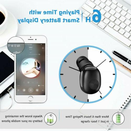 Bluetooth 4.2 Sport Wireless Headphone Headset Mini True Stereo