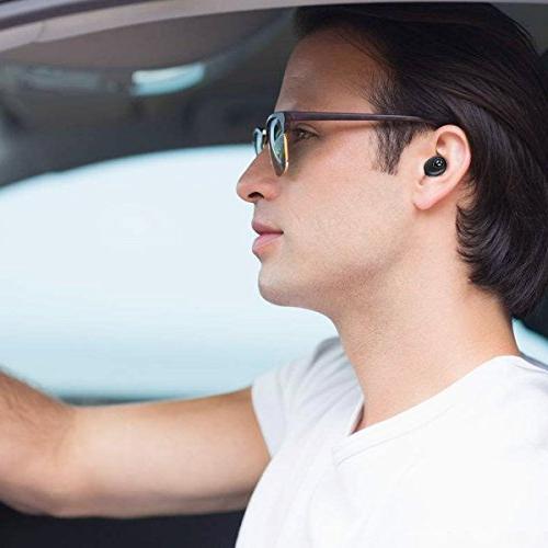 Bluetooth Bass True Wireless Headphones, Tranya Sports Wireless Proof Running, Box