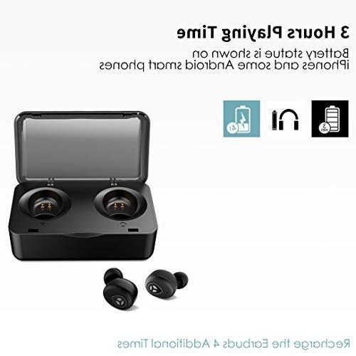 Bluetooth 5.0 True Wireless Tranya Sports Wireless Earbuds, Sweat