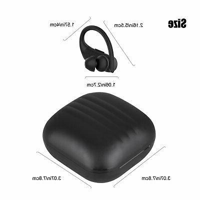 TWS Bluetooth Earhook HiFi Stereo Earbuds Sports Earphones Headsets