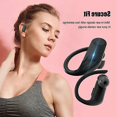 TWS Earhook HiFi Stereo Sports Earphones