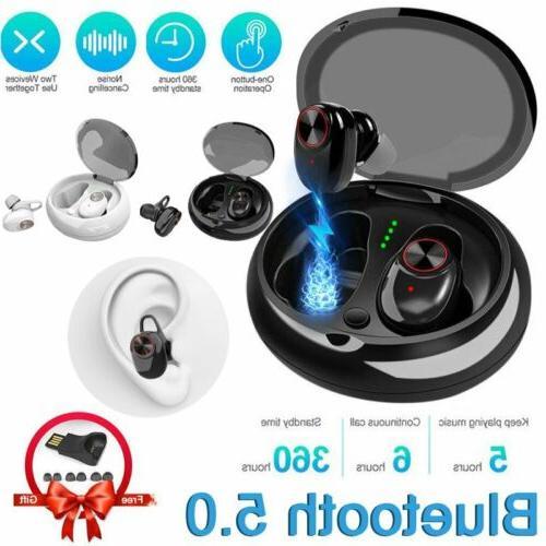 bluetooth 5 0 earbuds sport true wireless
