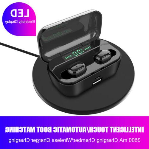 Bluetooth 5.0 Wireless Earphones Stereo Headphones