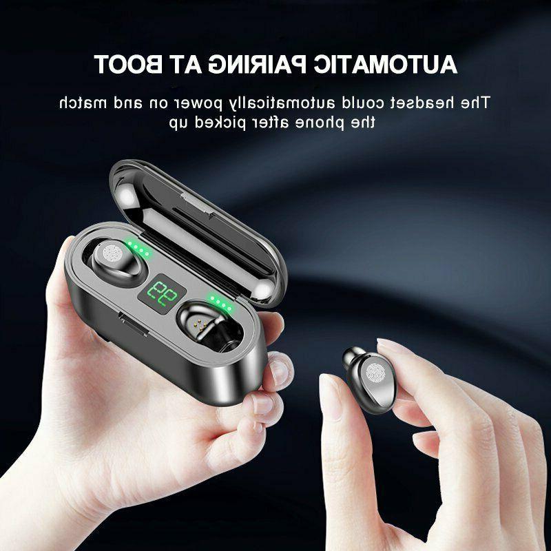 Bluetooth Earphone TWS Stereo Earbuds