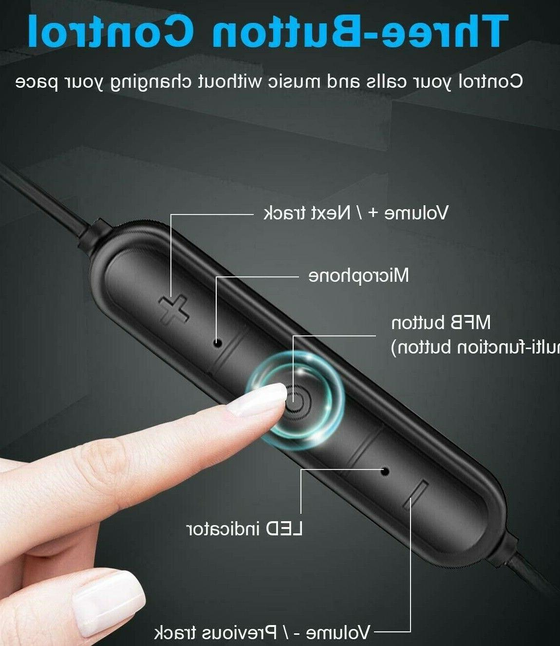 LETSCOM Bluetooth Lightweight Wireless IPX5 Built