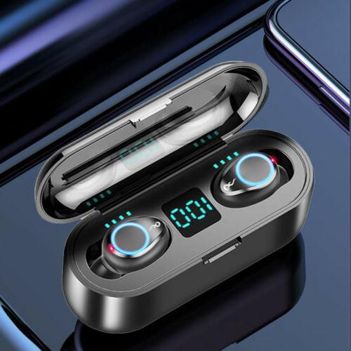 bluetooth 5 0 headset tws wireless earphone