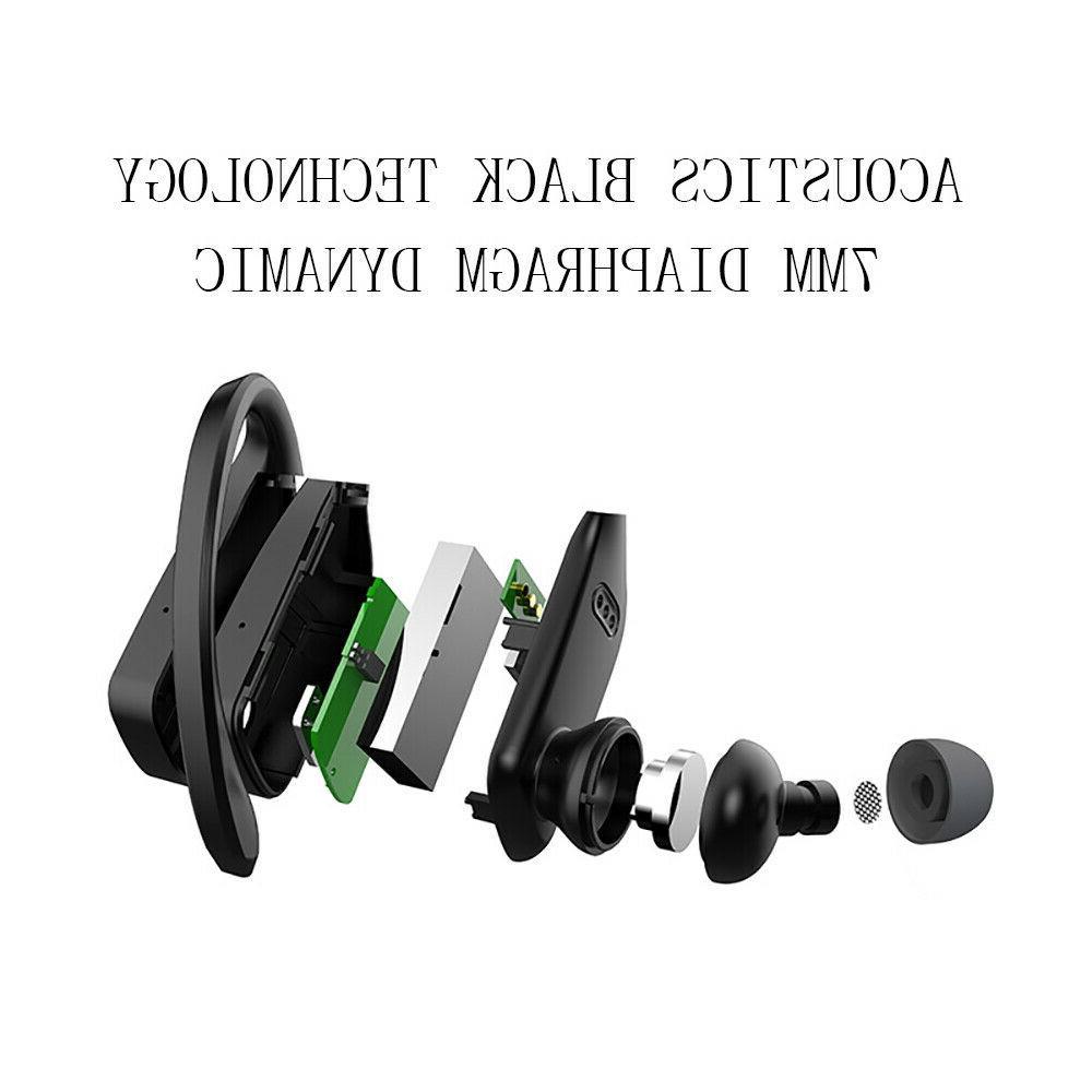 Bluetooth Headset TWS Wireless Earphones Headphones Hook