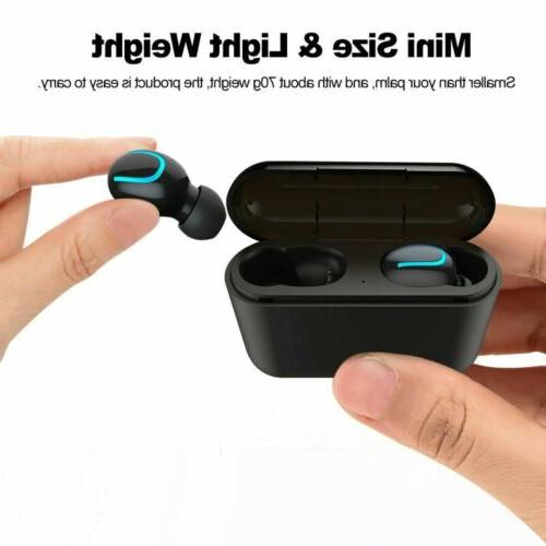 Bluetooth 5.0 Headset Wireless Earphones 5D Stereo Headphones