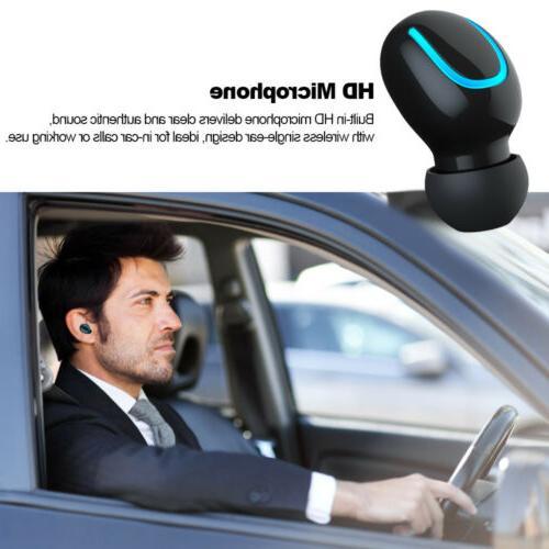 Bluetooth 5.0 Headset TWS Wireless 5D