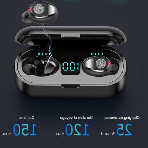 Bluetooth 5.0 Headset Wireless Earphones Mini Stereo Headphones IPX6