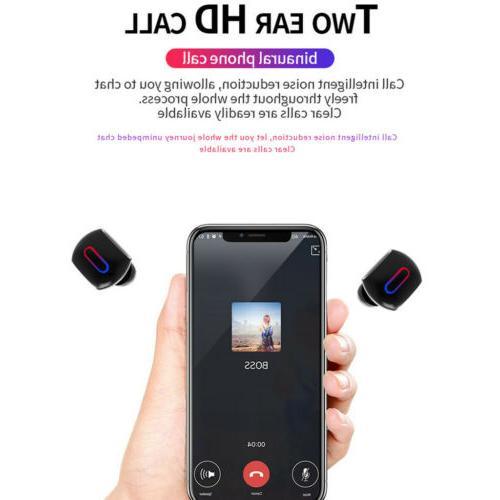 Bluetooth Wireless In-Ear Stereo Earphones Earbuds Handsfree Calling