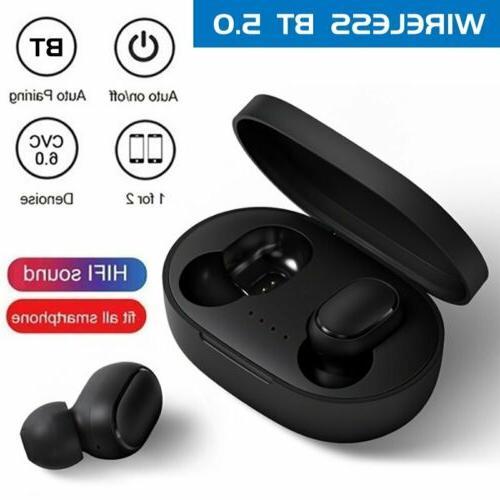 Mpow Bluetooth 5.0 Headset TWS Wireless Earphone HiFi Stereo