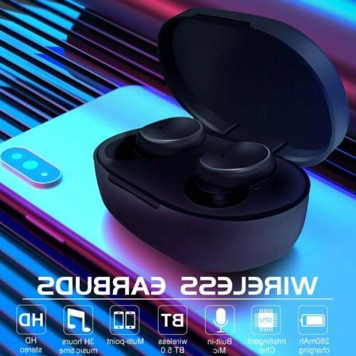 TWS Earphone HiFi Stereo Headphones Earbuds
