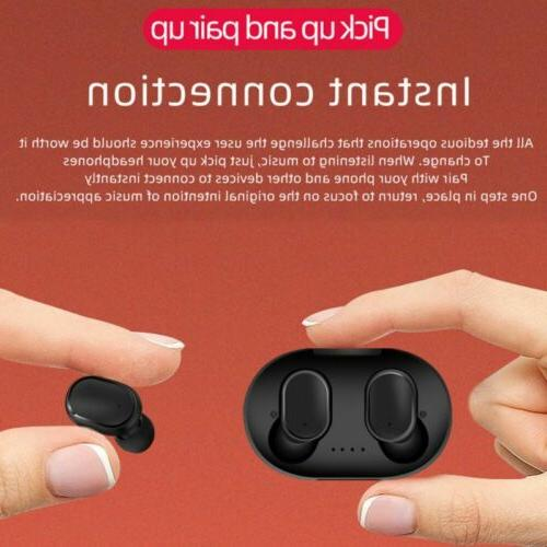 Bluetooth Earbuds Headsets Noise Cancelling Headphones