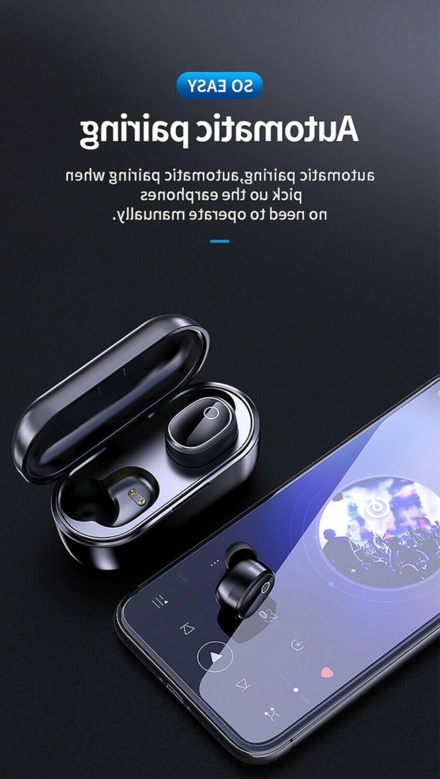 Bluetooth 5.0 True Earbuds Sports Headsets Headphones Waterproof