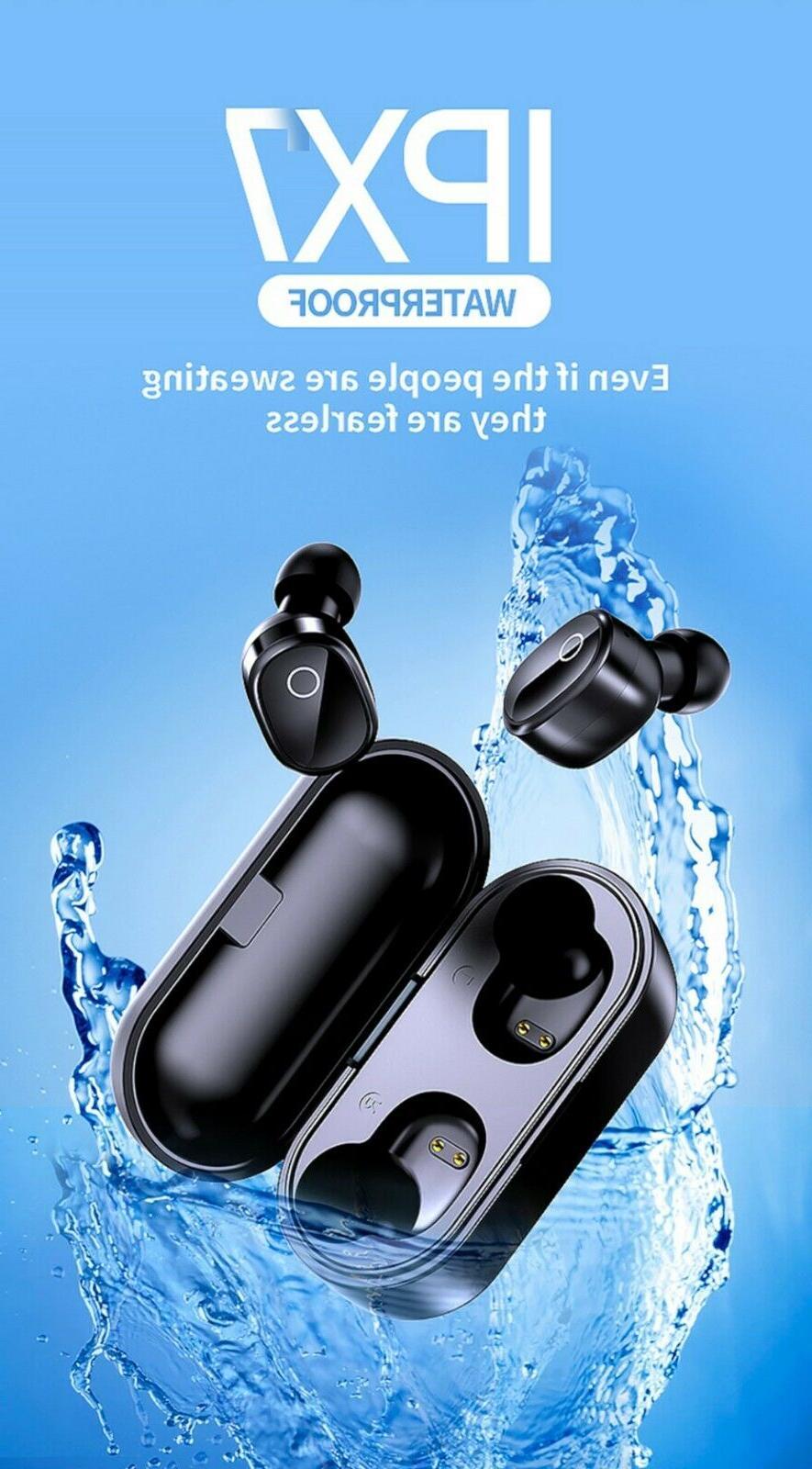 Bluetooth True Earbuds Headsets Headphones Waterproof