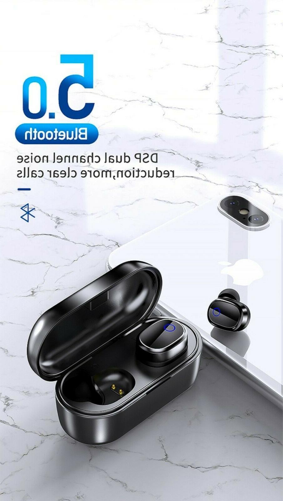 Bluetooth Earbuds Sports Headphones Waterproof
