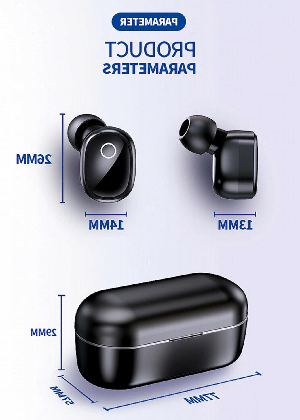 Bluetooth 5.0 Earbuds Sports Headsets Headphones Waterproof