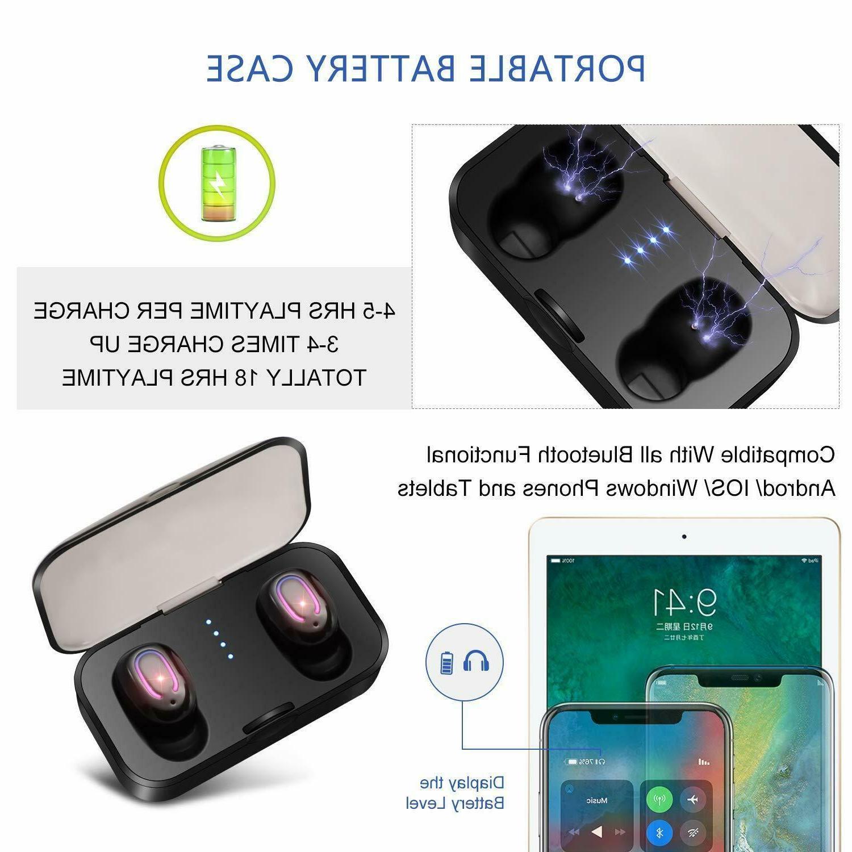 Bluetooth 5.0 True Wireless Touch Headphone Headset
