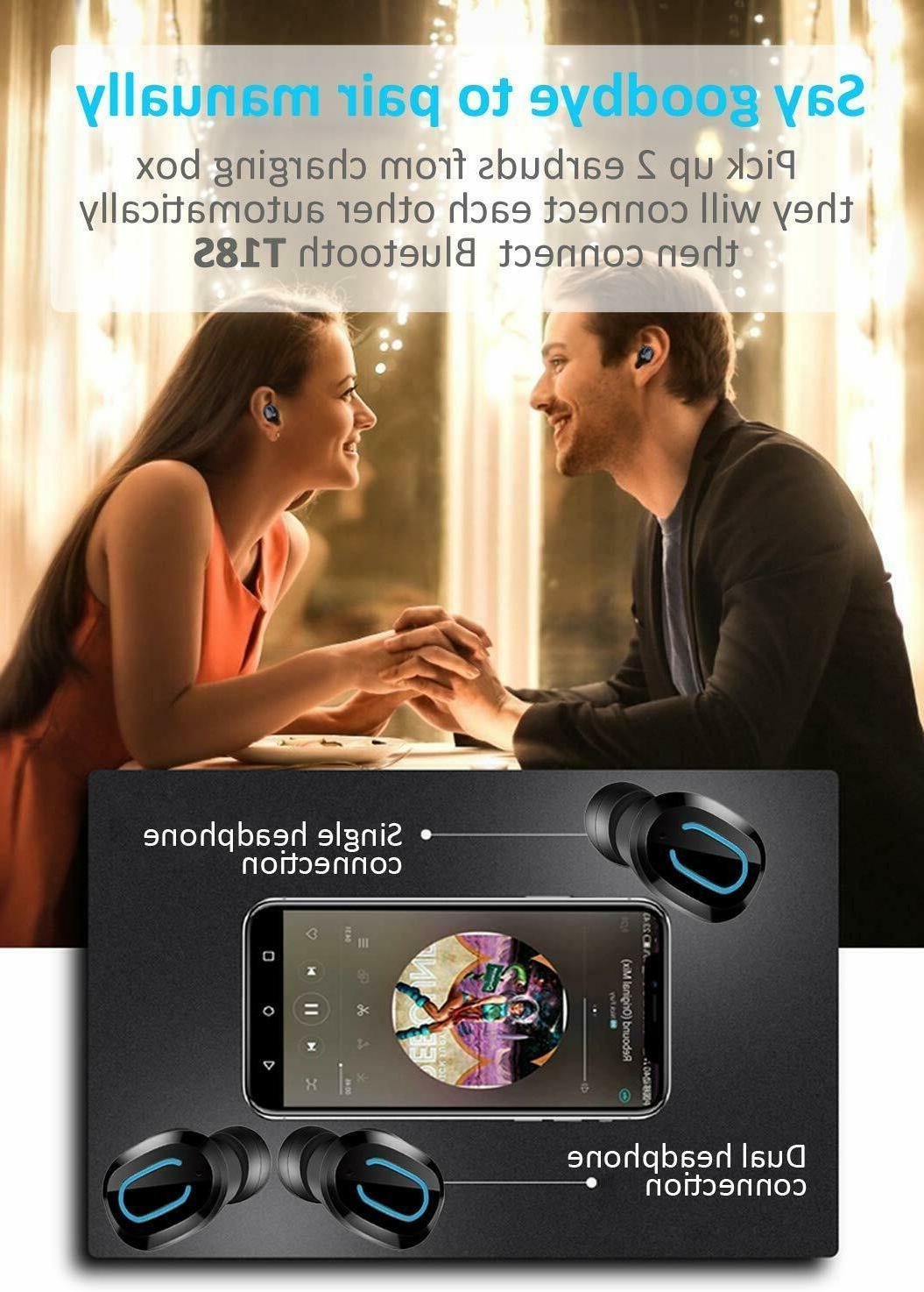 Touch Headphone Headset IPX7