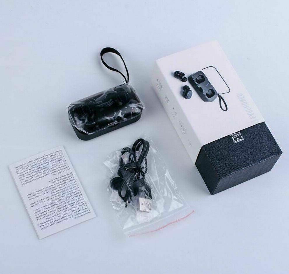 Bluetooth 5.0 True Wireless Touch Earbuds Headset IPX7